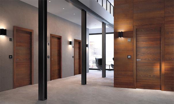 деревянные противопожарные двери